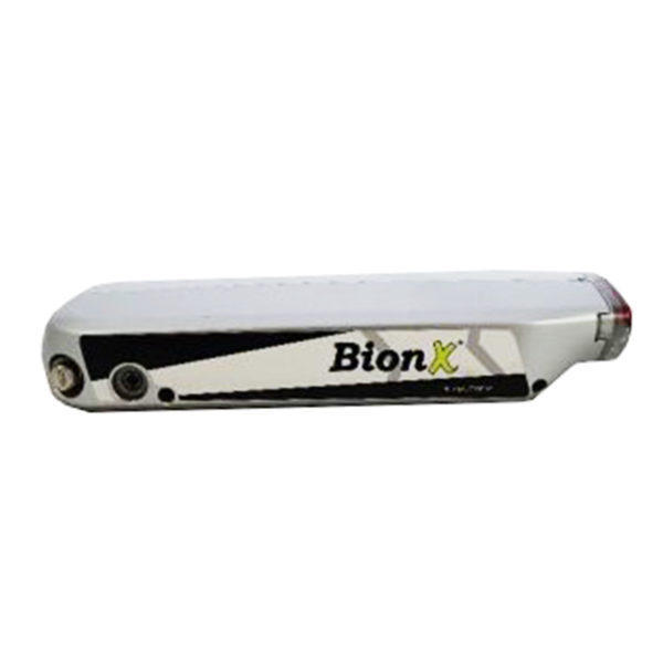 BionX RR-RX (48 V) - Gepäckträgerakku
